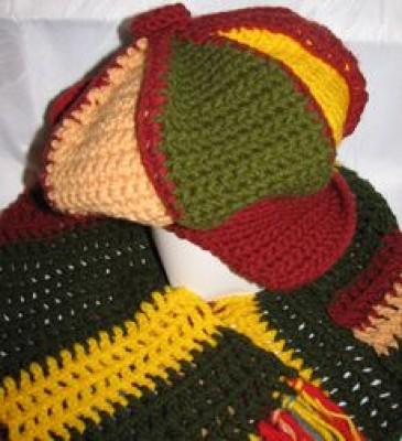 Комментарий: Вязание для детей. и. модные вязаные шапки. вязание шарфа...